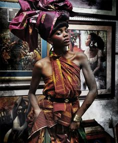 I And Africa | devoutfashion: Gayle Carbajal