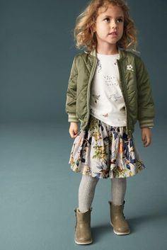 Buy Khaki Quilt Bomber Jacket (3mths-6yrs) online today at Next: United States of America