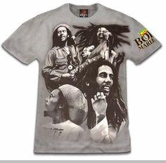 "Bob Marley ""The Many Faces of Bob"" T-Shirt"