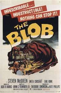 THE BLOB - 1950s B Movie Posters Wallpaper Image