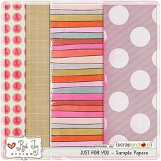Free Just for You Paper Pack from Red Ivy Design