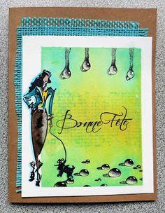 Les idées de Magouille: 13@rts Ayeeda Paint et Runway chez Scrapbook Tenda...