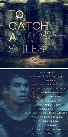 A workout mix to the theme of Maze Runner/Teen Wolf. THANK YOU Evalucyna for putting this together for me!
