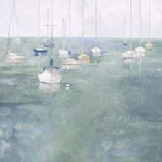 Clear Picture by Ellen Welch Granter Visit Maine, Romantic Beach, Luminous Colours, Name Art, Oil On Canvas, Cool Art, Around The Worlds, Landscape, Gallery