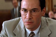 Bespectacled Birthdays: Keanu Reeves (from The Devil's Advocate), c.1998