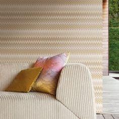Missoni Home wallpaper Zigzag Multicolore