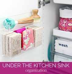 Organizing Under the Kitchen Sink | IHeart Organizing | Bloglovin'