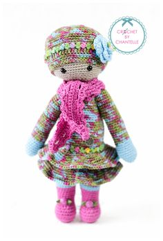 lalylala doll mod made by Chantelle van den N. / based on a crochet pattern by lalylala