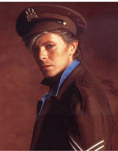 Bowie in uniform