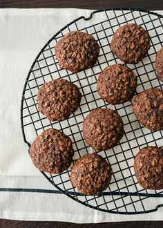 """Chocolate Oatmeal Cookies"" 