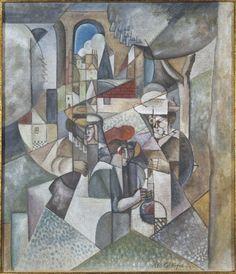 Gleizes, Albert: Femmes cousant (Mujeres cosiendo)