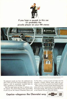 1966 Chevrolet Caprice Advertisement National Geographic April 1966 | by SenseiAlan