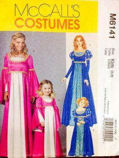 McCall's Costumes M6461 Medieval Elizabethan by Lonestarblondie, $6.00