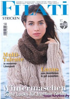 Журнал по вязанию, онлайн, скачать Filati Stricken 13 2017 Продолжение от 51 стр. Продолжение от 101 стр. Filati Stricken 13 2017
