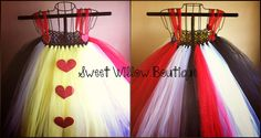 Queen of Hearts Tutu by SweetWillowSWB on Etsy, $50.00