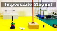 Impossible Magnet Levitating Locked in Space! Magnets don't work this way! This impossible magnet locks another magnet in space, trapping it from . Magnetic Levitation, Confirmation, Tractor, Beams, Magnets, Easy Diy, Canning, Youtube, Tractors