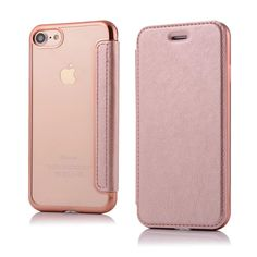 Online Selling @ https://www.aliexpress.com/store/product/Elegant-Plating-Soft-Transparent-Clear-TPU-Full-cover-Leather-case-for-iPhone-7-Plus-7-Flip/910513_32749233152.html