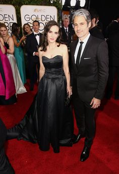 Inside the Golden Globes: Winona Ryder and Scott Mackinlay Hahn