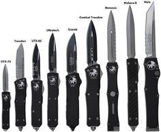 Microtech OTF knives