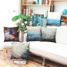 makeover furniture 45*45cm Printed Cushions Cotton Linen Cushion Covers Starry Sky Beach Home Decor -- AliExpress Affiliate's buyable pin. Item can be found  on www.aliexpress.com by clicking the image