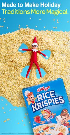 Rice Krispies were m