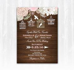 Hey, I found this really awesome Etsy listing at https://www.etsy.com/listing/199795972/wood-bird-cage-wedding-invitation-diy