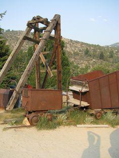 abandoned mine, Silver City Idaho