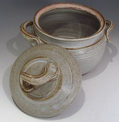 Handmade Pottery Dutch Oven by claycoyote