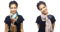 (Tutorial) 25 formas de ponerse un pañuelo