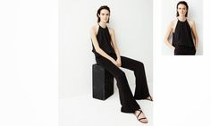 Mono negro Zara SS2015
