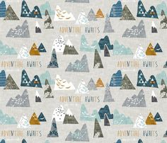 21 Best Woodland Fabric Images