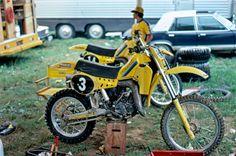 Eric Geboers' Works Suzuki RA125 | by Tony Blazier