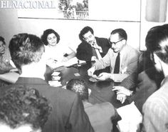 Los primeros escrutinios de las elecciones para la Asamblea Nacional Constituyente de 1952. Resultados:  URD encabezaba la lista con 294.593 votos, seguido del FEI con 147,528 y Copei con 89,095 votos.  01-12-1952 (ARCHIVO DE REDACCIÓN)
