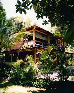 The tree house (named Casa da Arvore) at Uxua Casa Hotel in Trancoso, Brazil Future House, My House, Nature Living, Casa Hotel, Hotel Spa, Jungle House, Beach Bungalows, Beach Shack, Tropical Houses