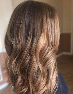 Ombré hair miel