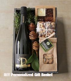 The citys renowned florist Winston Flowers has branched out Its new gourmet gift crates launched just in time for the holiday season include some of New Englands best sma. Christmas Gift Baskets, Diy Christmas Gifts, Holiday Gifts, Christmas Boxes, Winter Holiday, Personalised Gifts Diy, Gift Crates, Wine Gift Baskets, Basket Gift