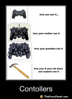 Controllers - How Your Mother See It!