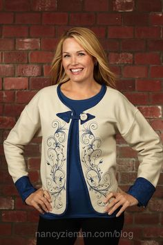 A Sewing With Nancy show on Machine Embroidery in 6 Easy Lessons. Part 2 covers lessons 4-6.