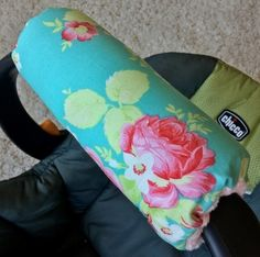 Arm Pad - Lola Aqua Roses