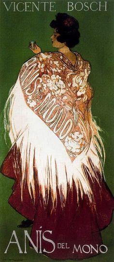 Ramón Casas Carbó Con una falda de percal planchá.jpg