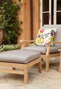 FSC certified outdoor furniture.