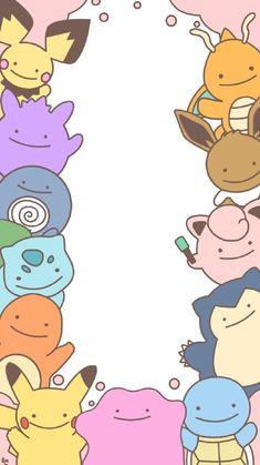 Pop Art Wallpaper, Iphone Wallpaper Glitter, Trendy Wallpaper, Cute Wallpapers, Wallpaper Awesome, Cute Pokemon Wallpaper, Kawaii Wallpaper, Pokemon Lock Screen, Pokemon Ditto