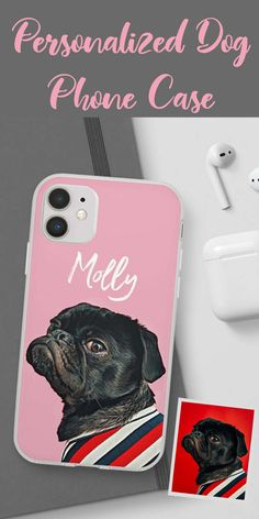 Print your loving pet using state-of-the-art technology on high-grade plastic for a combination of a very cute but durable phone case that protects it from falls, breaks, and cracks. #pet #petlover #Personalized #gift #dog #iphone11 #iphone #case #surprise #trending