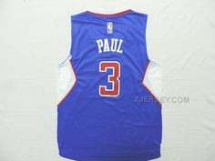 http://www.xjersey.com/clippers-3-paul-blue-new-revolution-30-jersey.html CLIPPERS 3 PAUL BLUE NEW REVOLUTION 30 JERSEY Only $34.00 , Free Shipping!