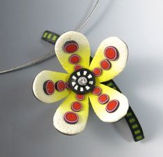 Floral Pendant with Donna Kato #craftartedu