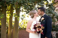 Bride and Groom at Overbrook Country Club by Krista Patton Photography