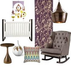 plum and grey baby room - Mozilla Yahoo Image Search Results
