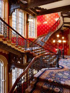 St. Pancras Renaissance Hotel, London, England.