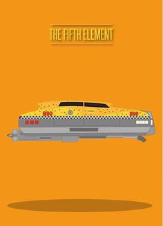 The Fifth Element (1997) ~ Minimal Movie Poster by David Peacock #amusementphile
