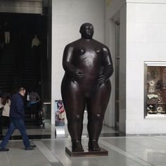 "Botero at ""the shops Columbus Circle"""